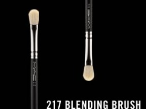 MAC brush 217 ( 24EUR)