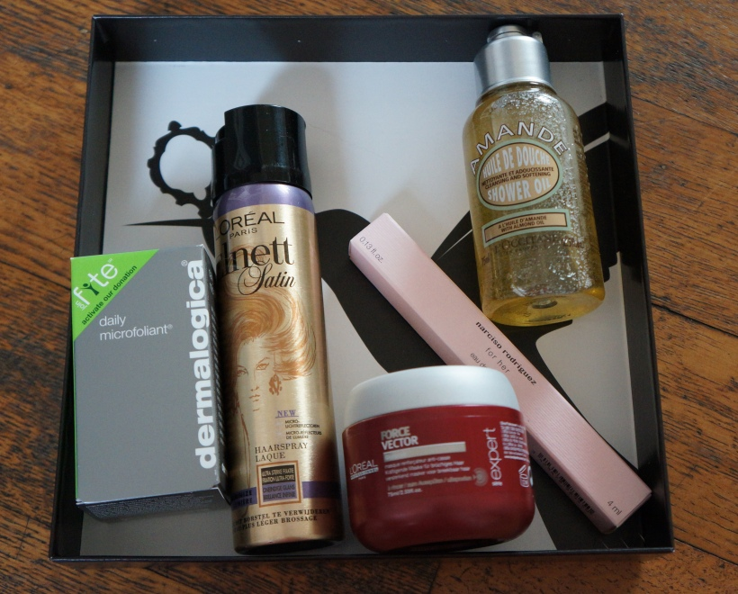 January Deauty Box/ Pic by kiwikoo
