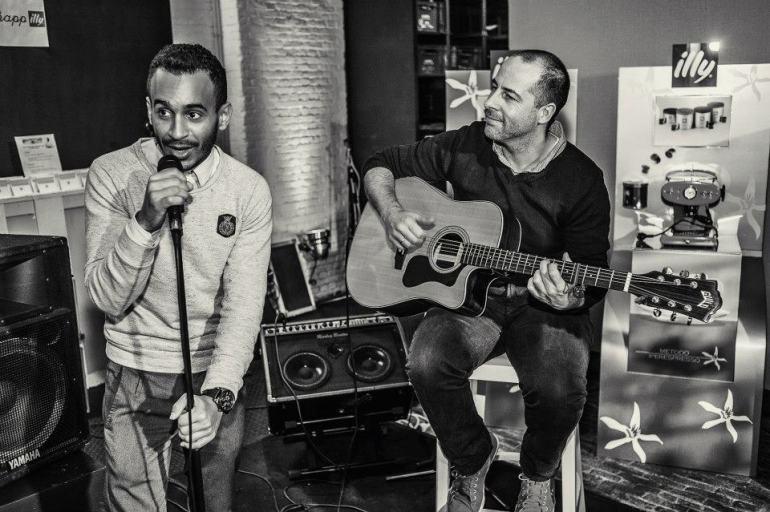 Adil Aarab and Pa Van Vier/ Pic by Jan