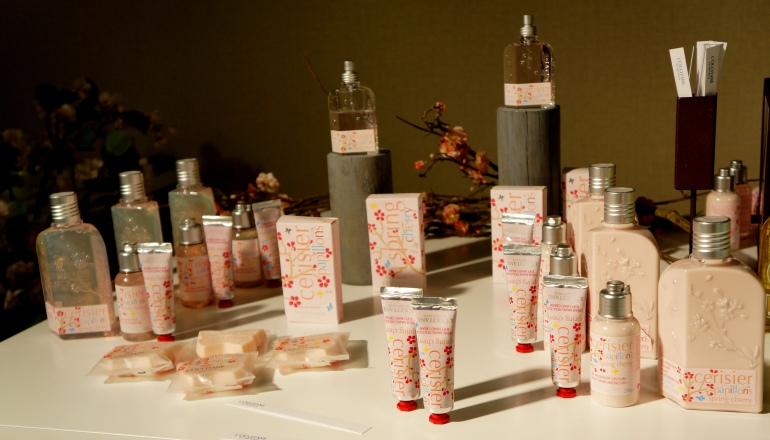Spring Cherry limited edition by L'Occitane/ Pic by kiwikoo