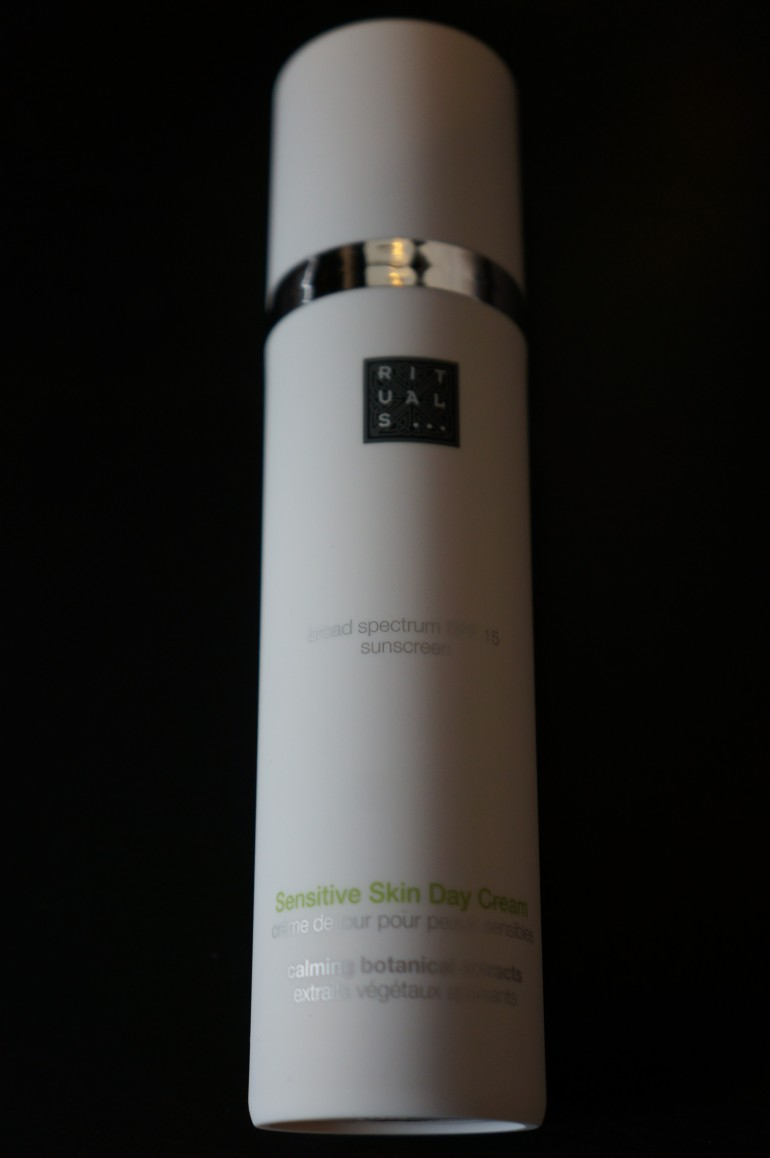 Day cream for sensitive skins by Rituals/ Pic by kiwikoo