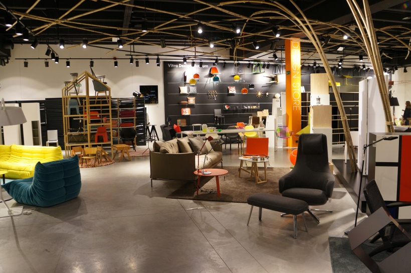 Interior design departement at SMETS Store/ Pic by kiwikoo