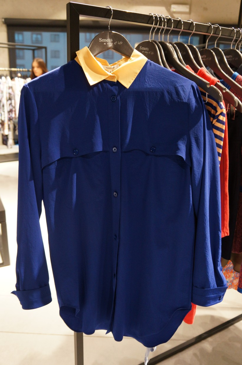 Acne shirt I fell in love with at SMETS Store/ Pic by kiwikoo