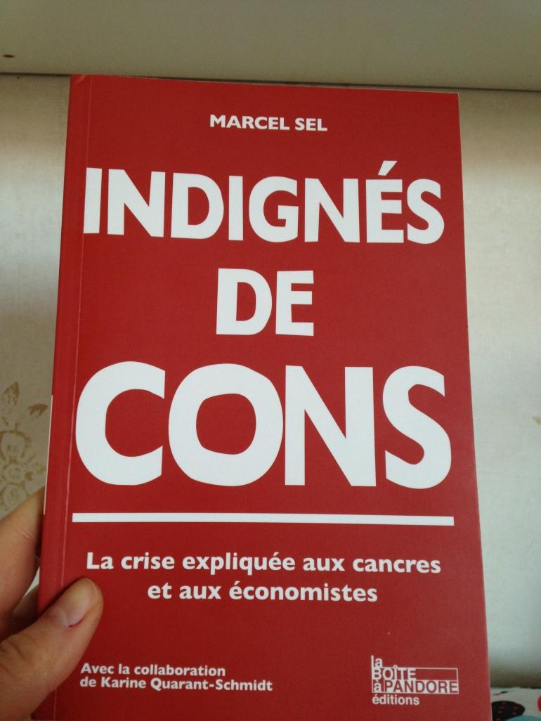 """Indignés de Cons"" par Marcel Sel/ Pic by kiwikoo"
