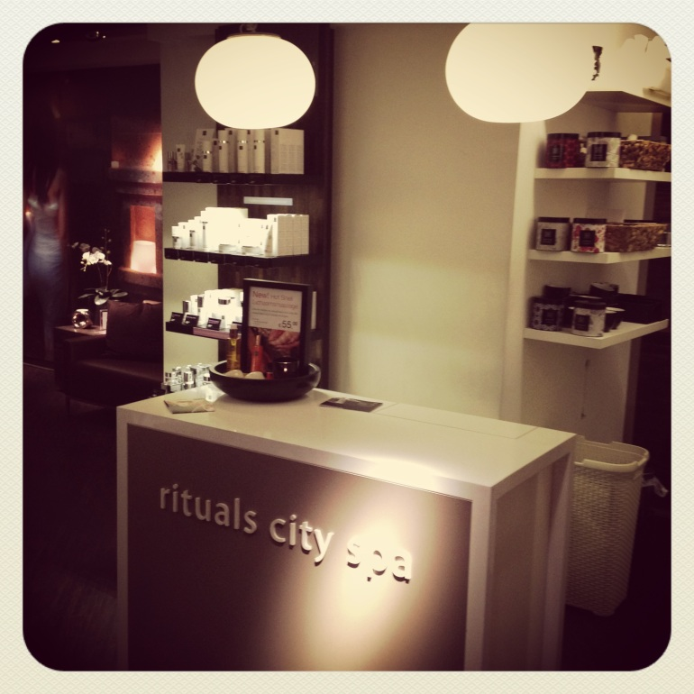 Rituals City Spa in Knokke/ Pic by kiwikoo