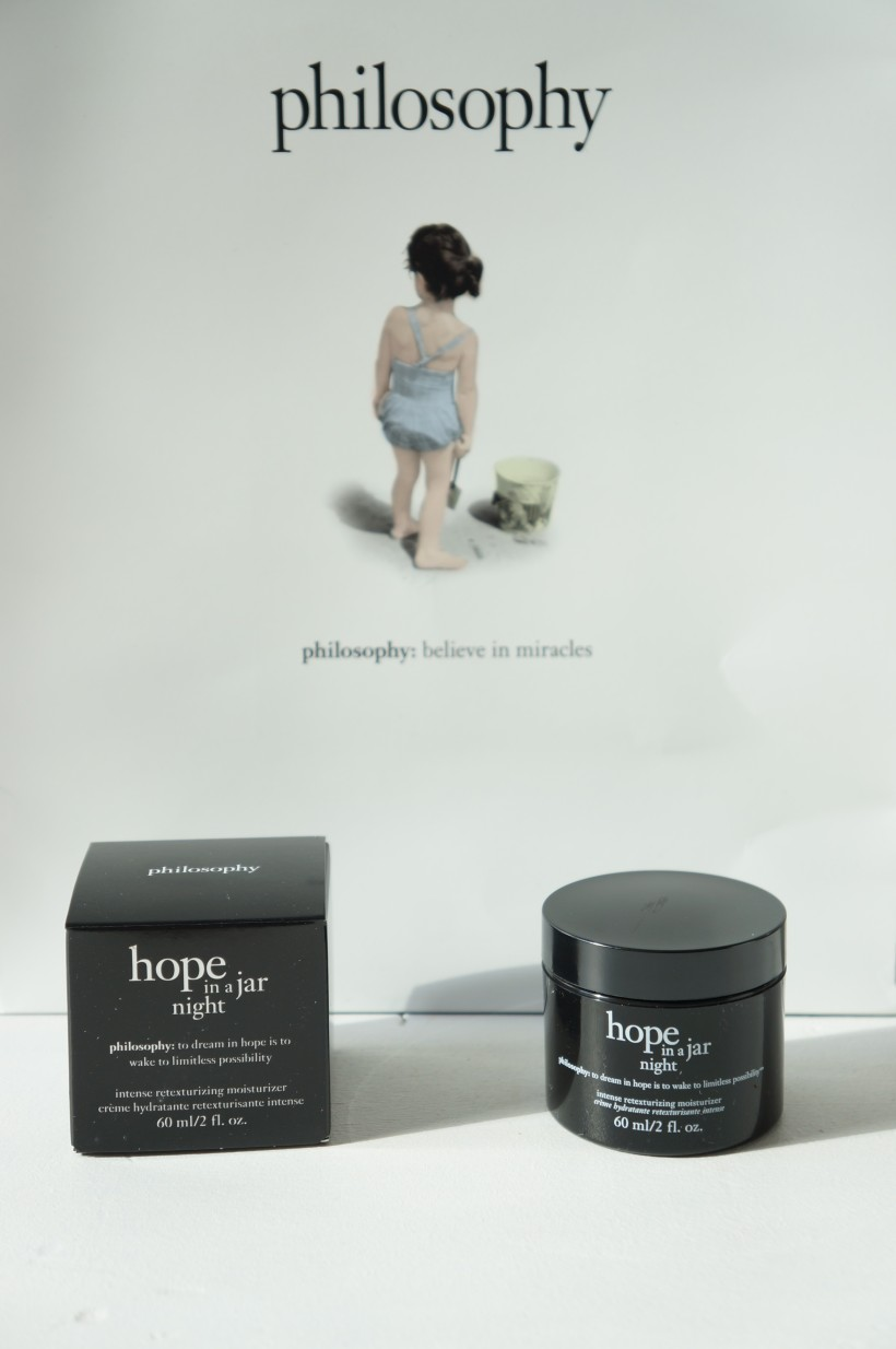 Hope in a Jar Night from Philosophy/ Pic by kiwikoo