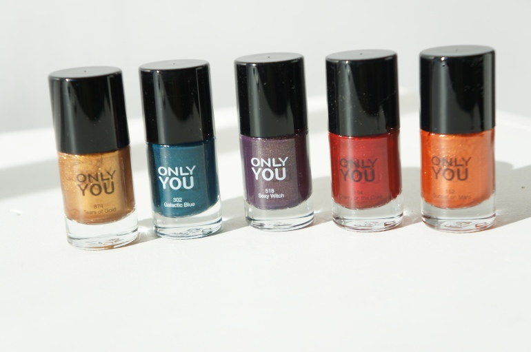 Only You Nail polishes limited edition / Pic by kiwikoo