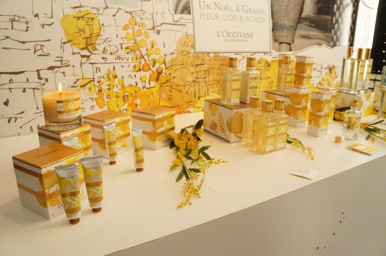 Un Noël à Grasse - Fleur d'Or et Acacia by L'Occitane/ Pic by kiwikoo