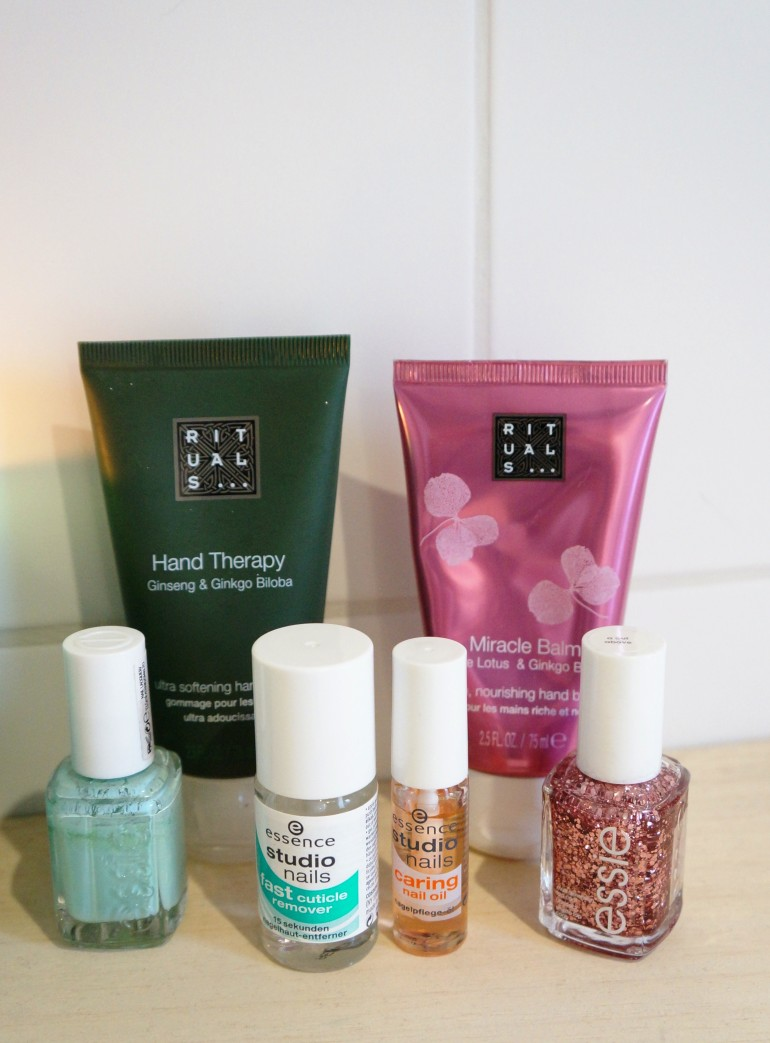 Nail products favourites/ Pic by kiwikoo