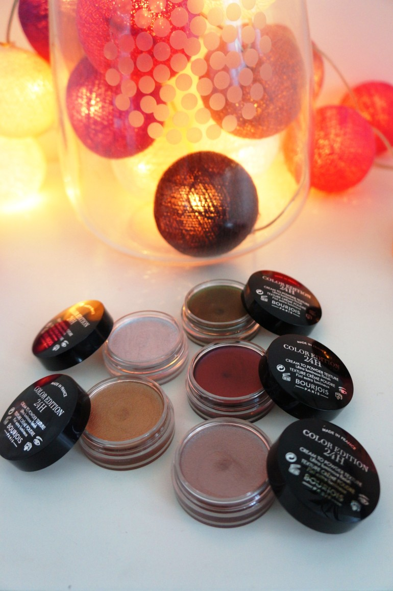 Bourjois Cream Shadows/ Pic by kiwikoo