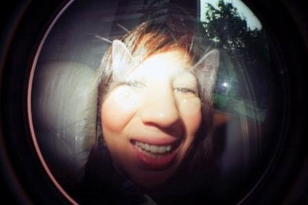 Faust et moi/ double exposition Lomo Fisheye/ Pic by kiwikoo