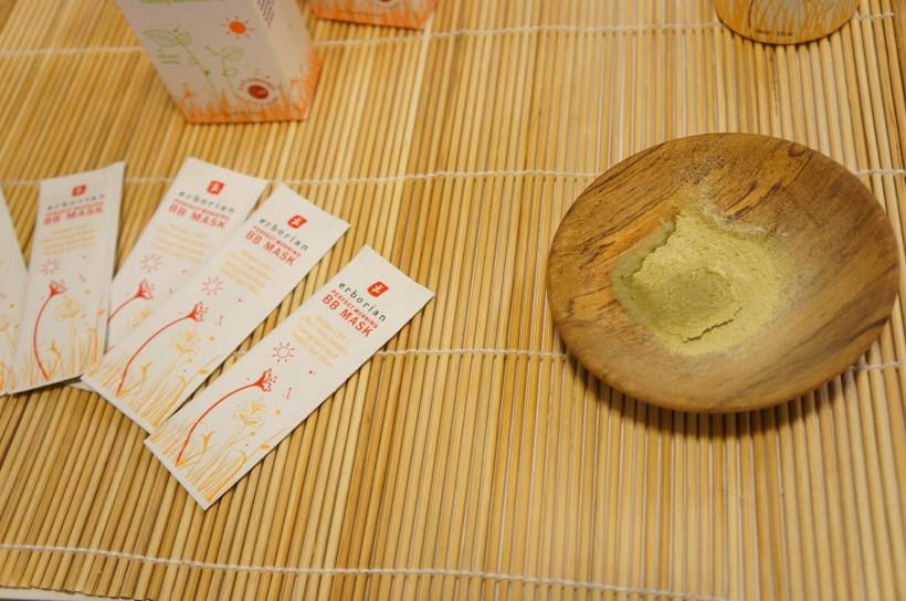 c/o Erborian Perfect Morning BB Mask/ Pic by kiwikoo