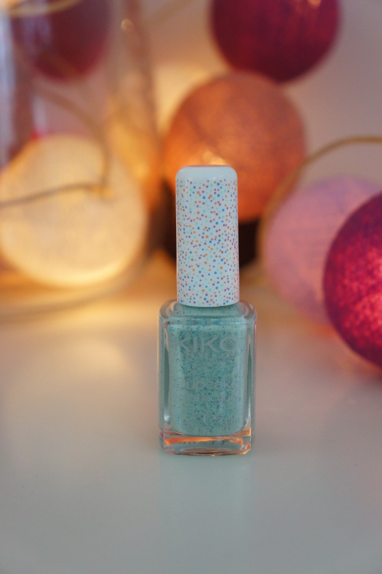 Cupcake Nail Lacquer in Mint by Kiko/ Pic by kiwikoo