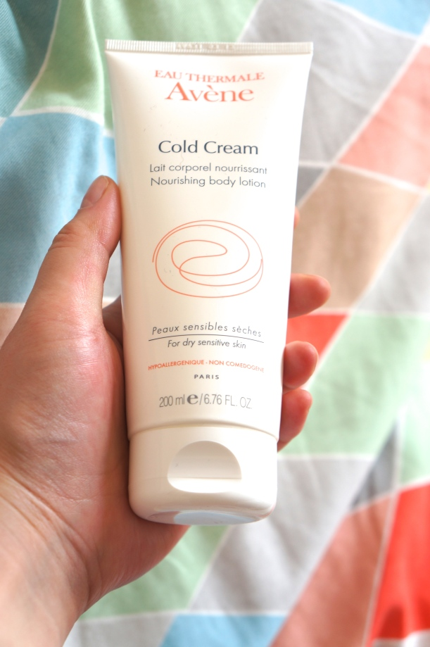 Avène Lait hydratant Cold Cream/ Pic by kiwikoo