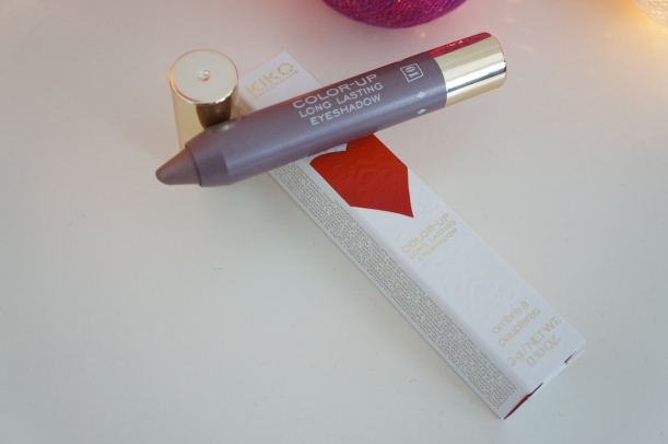 1à Bold Rosy Taupe pencil eye shadow by Kiko, Daring Game collection/ Pic by kiwikoo