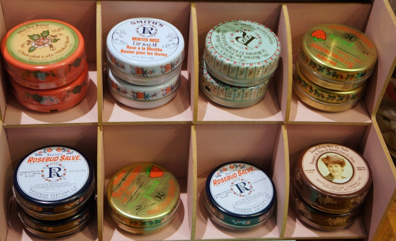 Smith's lipbalms at Le Boudoir de Jeanne/ Pic by kiwikoo.