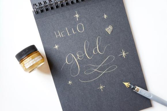 Débuter en calligraphie moderne…#1