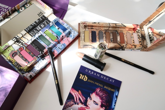Urban Decay x J.M. Basquiat Tenant Palette + Lancôme Monsieur BIG tutoriel!